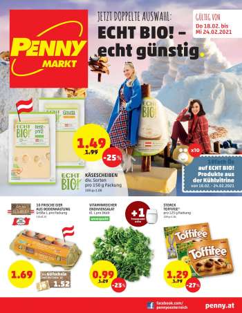 Angebote Penny - 18.2.2021 - 24.2.2021.
