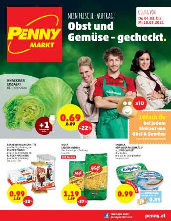 Angebote Penny - 4.3.2021 - 10.3.2021.